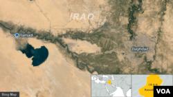 Ramadi dan Baghdad, Irak