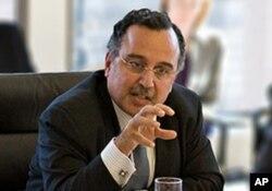 Nabil Fahmy, attending an International Advisory Board meeting of the James Martin Center for Nonproliferation Studies, Monterey Institute for International Studies