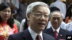 Sekretaris Jenderal Partai Komunis Vietnam, Nguyen Phu Trong.