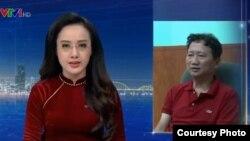 """Hình ảnh ông Trịnh Xuân Thanh """"tự thú"""" trên Truyền hình Việt Nam."""
