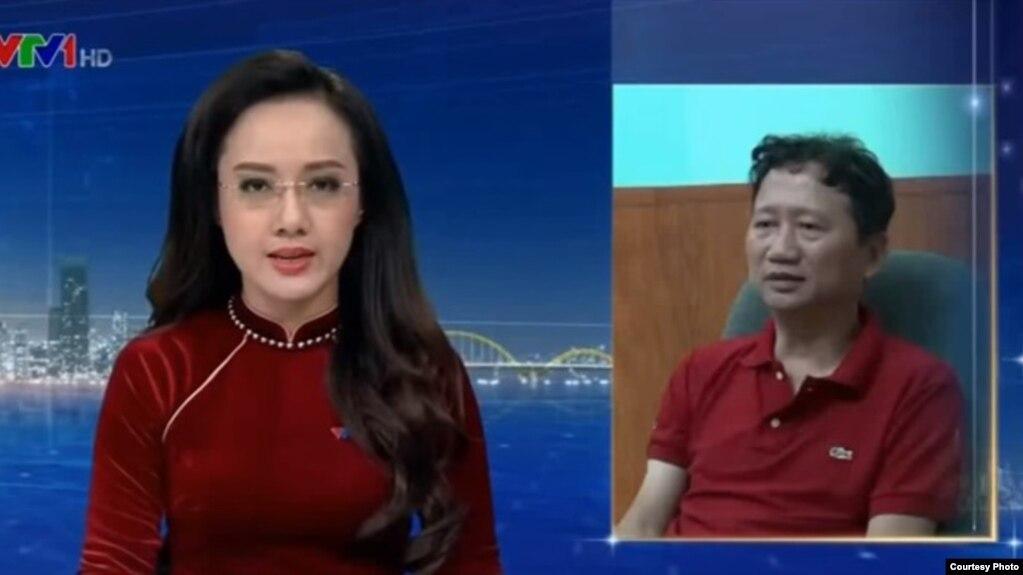 """Bản tin thời sự của VTV lúc 19h ngày 3/8 cho thấy Trịnh Xuân Thanh nói lời """"xin lỗi"""" và """"quay về để đối diện với sự thật."""""""