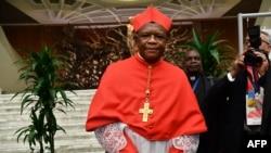Le cardinal Fridolin Ambongo, archevêque de Kinshasa, le 5 octobre 2019.