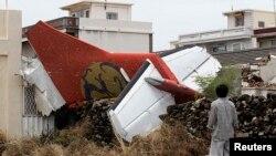 Olupina aviona Trans Azije koji se srušio na ostrvo Pengu 24. jula 2014.