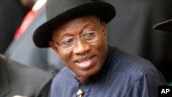 Shugaba Jonathan na Najeriya