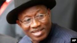 Shugaba Goodluck Jonathan na Nigeria