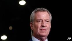 Thị trưởng Thành phố New York Bill de Blasio.
