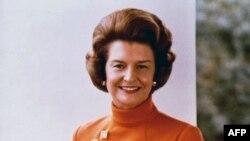 Betti Ford 1974-77 yillarda Oq Uy bekasi bo'lgan