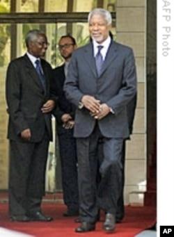 Kofi Annan, former UN Secretary General.