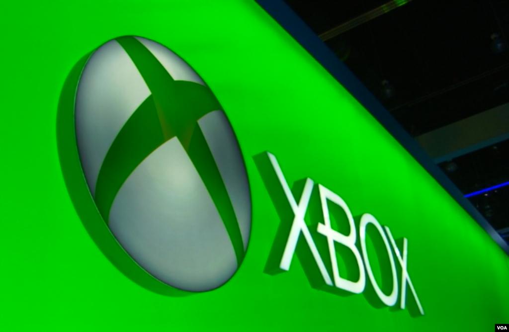 غرفه اکس باکس شرکت میکروسافت در نمایشگاه E3، بزرگترین نمایشگاه بازیهای ویدیویی در دنیا