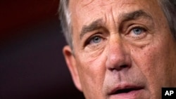 """John Boehner sugirió que el representante de California Kevin McCarthy """"sería un excelente presidente del Congreso""""."""
