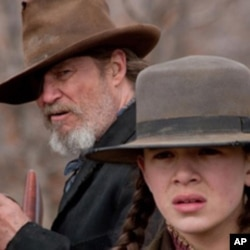 "Jeff Bridges and Hailee Steinfeld star in ""True Grit"""