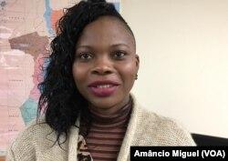 Uacitissa Mandamule, investigadora moçambicana