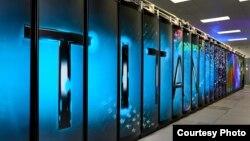 Laboratorium Nasional Oak Ridge yang mengeluarkan komputer super bernama Titan.(Courtesy Oak Ridge National Laboratory)