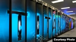 Oak Ridge National Laboratory is home to Titan, the world's most powerful supercomputer for open science with a theoretical peak performance exceeding 20 petaflops. (Courtesy Oak Ridge National Laboratory)