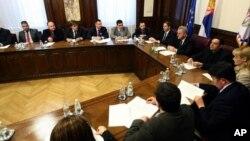 Predsednik Srbije Tomislav Nikolić sastao se sa predstavnicima Srba s Kosova i Metohije