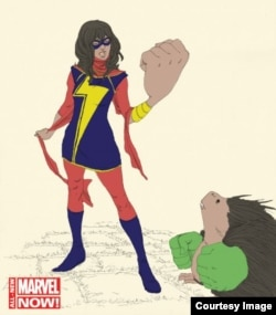 Ms. Marvel is the first Muslim superhero to have her own dedicated series. (Marvel)