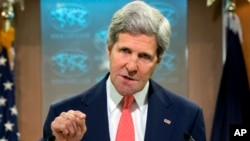 FILE - U.S. Secretary of State John Kerry