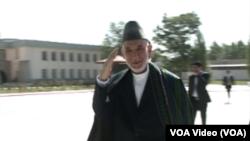 حامد کرزی , رییس جمهور