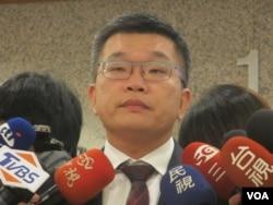 2 台灣立法院副院長蔡其昌(美國之音 張永泰拍攝)