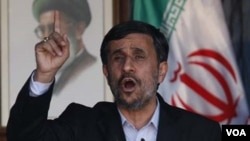 Presiden Iran Mahmud Ahmadinejad