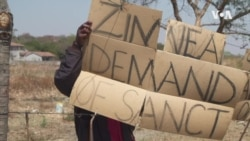 Zimbabwe Rights Activists Oppose Calls for Lifting Sanctions