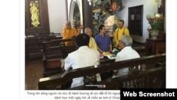 Chẳng hạn hình này: nguyên Thủ tướng Nguyễn Tấn Dũng dành trọn một ngày tại Chùa Thiên Hưng, được trích xuất từ trang nguyentandung.org.