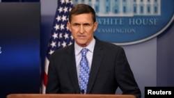 Mantan Penasihat Keamanan Nasional AS, Michael Flynn (foto: dok).