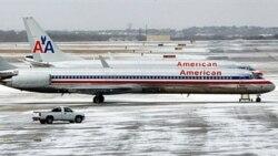 یک هواپیمای مسافربری شرکت آمریکن ایرلاینز در تگزاس- آرشیو