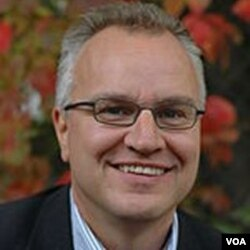 Pengamat Nobel dan Direktur Lembaga Penelitian Perdamaian di Oslo, Kristian Berg Harpviken.