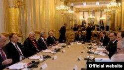 Fransa, Azərbaycan və Ermənistan prezidentlərinin Paris görüşü