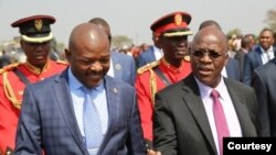 Abahisi Petero Nkurunziza na John Pombe Magufuli