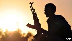 یکی از نیروهای کرد یگان مدافع خلق در سوریه