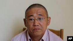 遭北韓扣押的其中一名美國人裴俊浩。(資料圖片)