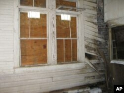 Preservation architects evaluated the building and found it to be in sound structural shape.