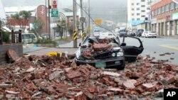 布拉萬襲擊南韓造成損毀