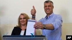 科索沃执政党民主党称总理塔奇赢得第三个任期