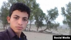 یوسف سینگله دانشآموز بلوچ بازداشت شده