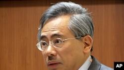 台灣衛生署長邱文達5月25號在國民黨中常委