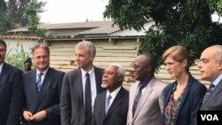 Les représentants du Conseil de sécurité de l'ONU ont rencontré, vendredi 22 janvier, le vice-président burundais Gaston Sindimwo. (VOA)