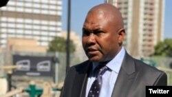 Jolidee Matongo, maire de Johannesburg est mort dans un accident de voiture, le 18 septembre 2021. (Twitter)