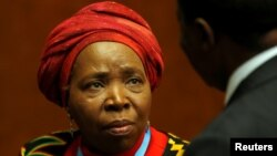 Nkosazana Clarice Dlamini-Zuma, African Union Commission Chairperson