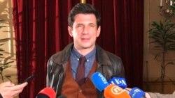 Alban Ukaj, glumac u filmu Quo vadis Aida