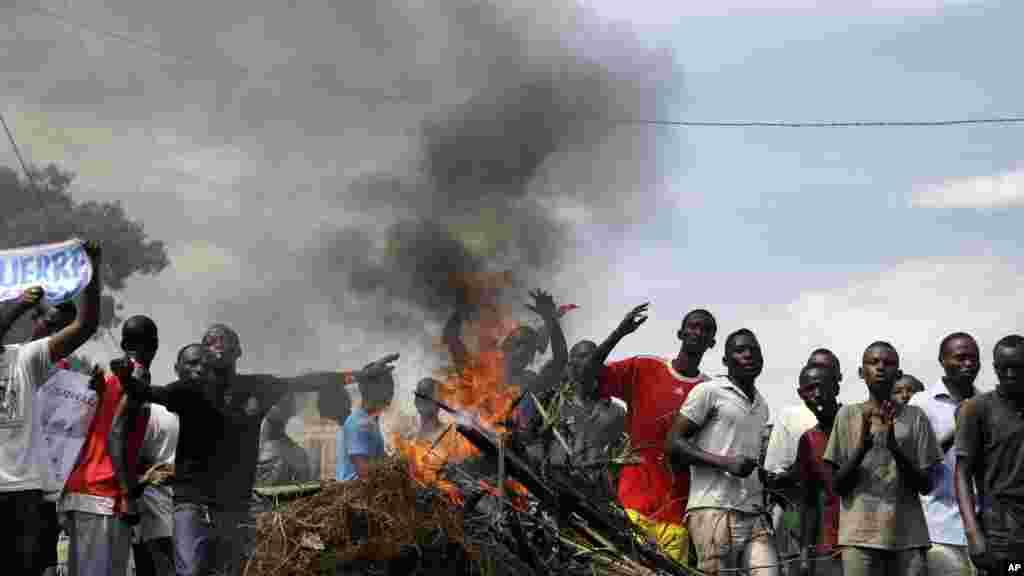 Burundi Political Tensions