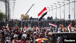 اعتراضات روز جمعه عراقیها در بغداد