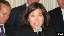 华裔美国联邦众议员孟昭文(2012年11月6日)