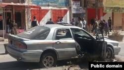 Car explosion - Khanaqin