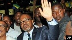 André Mba Obame, l'un des leaders de l'opposition gabonaise
