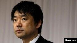 최근 위안부 발언으로 파문을 일으킨 하시모토 도루 일본 오사카 시장.