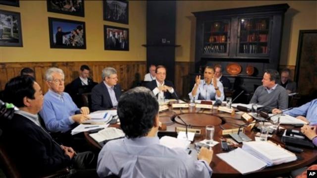 ၂၀၁၂ က ျပဳလုပ္ခဲ့တဲ့ G8 စက္မႈထိပ္သီးႏုိင္ငံမ်ား အစည္းအေ၀း