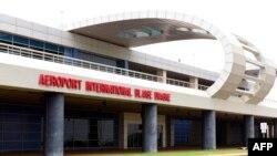 L'aéroport international Blaise Diagne à Dakar, inauguré le 7 novembre 2017.